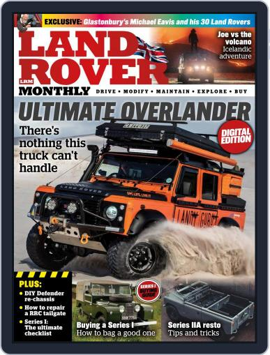Land Rover Monthly June 1st, 2021 Digital Back Issue Cover