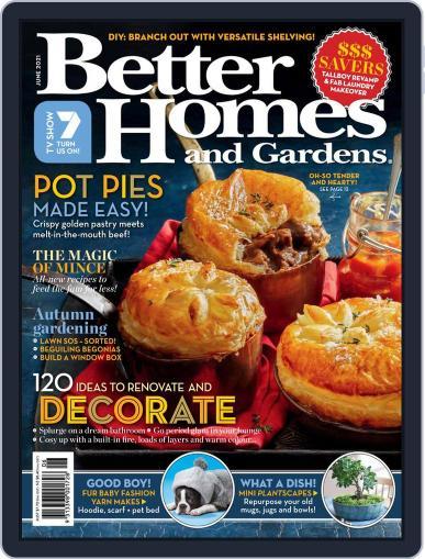 Better Homes and Gardens Australia (Digital) June 1st, 2021 Issue Cover