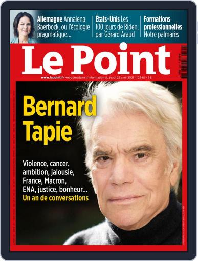 Le Point (Digital) April 22nd, 2021 Issue Cover
