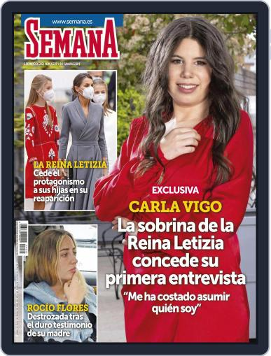 Semana (Digital) May 5th, 2021 Issue Cover