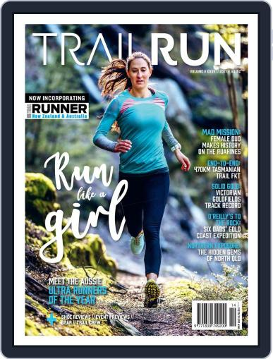 Trail Run May 1st, 2021 Digital Back Issue Cover