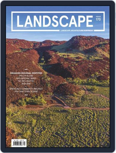 Landscape Architecture Australia (Digital) May 1st, 2021 Issue Cover