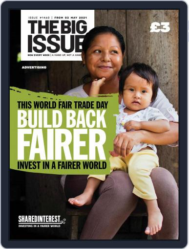 The Big Issue May 3rd, 2021 Digital Back Issue Cover