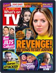 What's on TV (Digital) Subscription May 8th, 2021 Issue