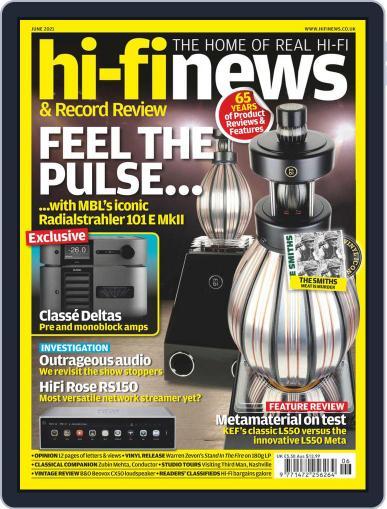 Hi Fi News (Digital) June 1st, 2021 Issue Cover