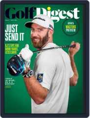 Golf Digest Magazine (Digital) Subscription April 1st, 2021 Issue