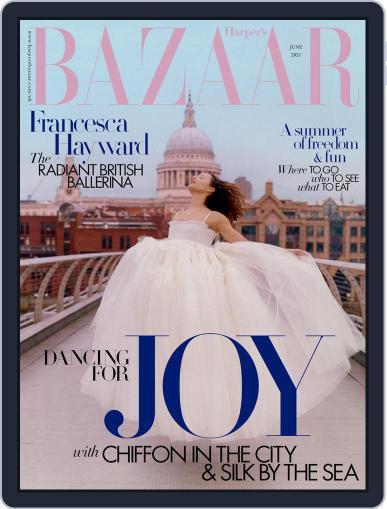 Harper's Bazaar UK June 1st, 2021 Digital Back Issue Cover