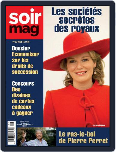 Soir mag (Digital) May 8th, 2021 Issue Cover