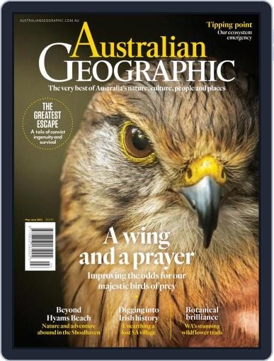 Australian Geographic May 1st, 2021 Digital Back Issue Cover