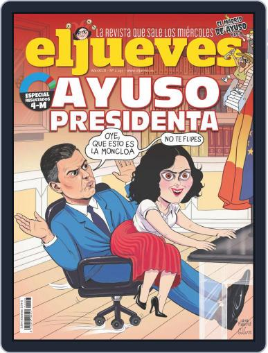 El Jueves (Digital) May 6th, 2021 Issue Cover