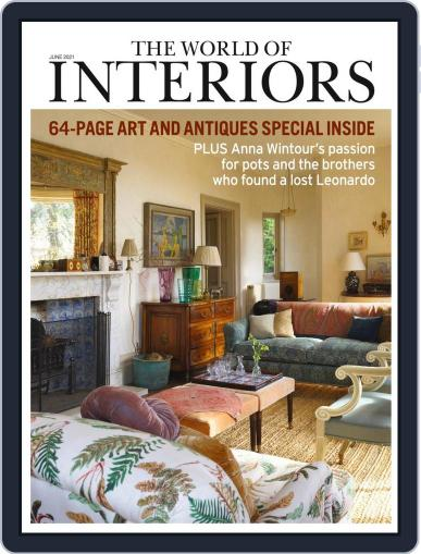 The World of Interiors June 1st, 2021 Digital Back Issue Cover