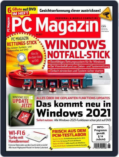 PC Magazin June 1st, 2021 Digital Back Issue Cover
