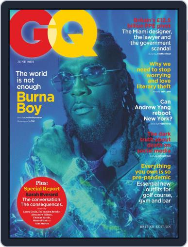 British GQ (Digital) June 1st, 2021 Issue Cover