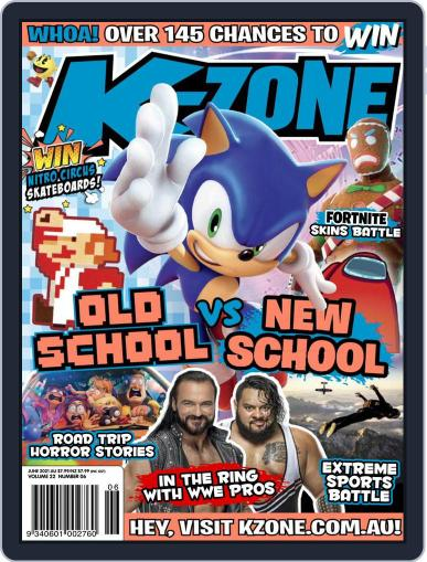 K-Zone (Digital) June 1st, 2021 Issue Cover