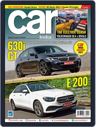 Car India May 1st, 2021 Digital Back Issue Cover