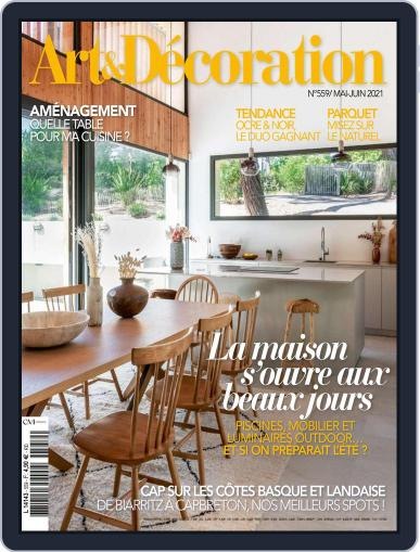 Art & Décoration May 1st, 2021 Digital Back Issue Cover