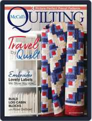 McCall's Quilting (Digital) Subscription July 1st, 2021 Issue