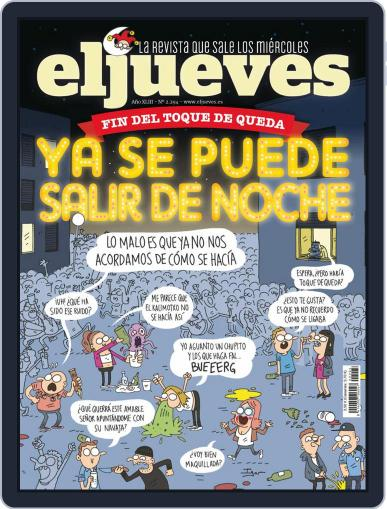 El Jueves (Digital) May 11th, 2021 Issue Cover