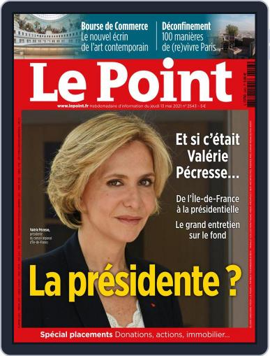 Le Point May 13th, 2021 Digital Back Issue Cover