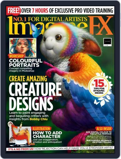 ImagineFX July 1st, 2021 Digital Back Issue Cover