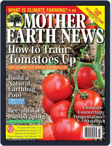 MOTHER EARTH NEWS June 1st, 2021 Digital Back Issue Cover