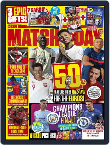 Match Of The Day (Digital) May 18th, 2021 Issue Cover