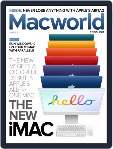 Macworld June 1st, 2021 Digital Back Issue Cover