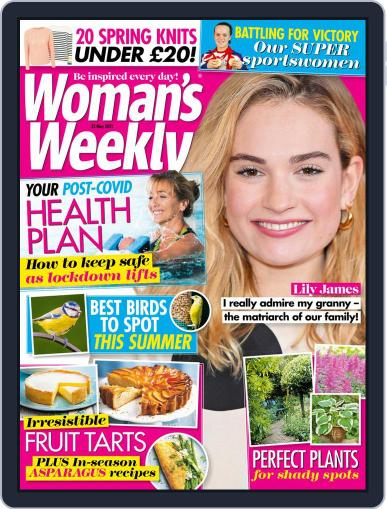 Woman's Weekly May 25th, 2021 Digital Back Issue Cover