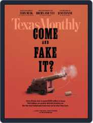 Texas Monthly (Digital) Subscription June 1st, 2021 Issue