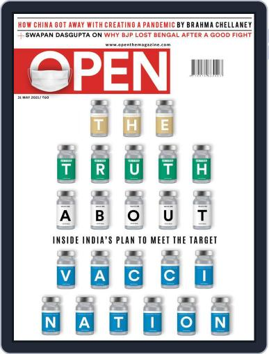 Open India May 21st, 2021 Digital Back Issue Cover