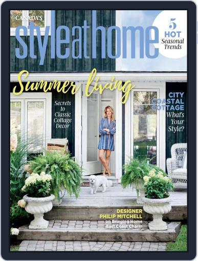 Style At Home Canada (Digital) June 1st, 2021 Issue Cover