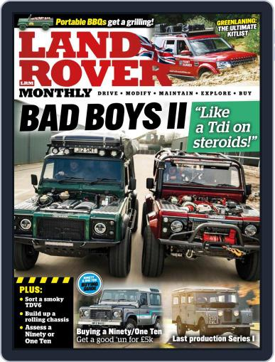 Land Rover Monthly July 1st, 2021 Digital Back Issue Cover