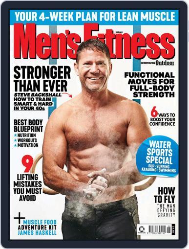Men's Fitness UK (Digital) June 1st, 2021 Issue Cover