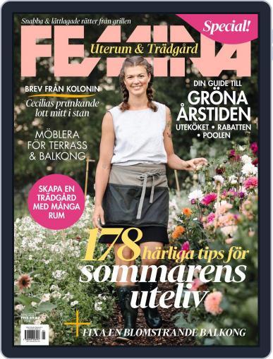Uterum & Trädgård - Femina special Magazine (Digital) May 1st, 2021 Issue Cover