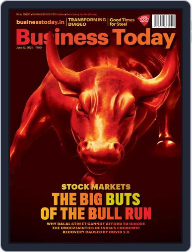 Business Today (Digital) June 13th, 2021 Issue Cover
