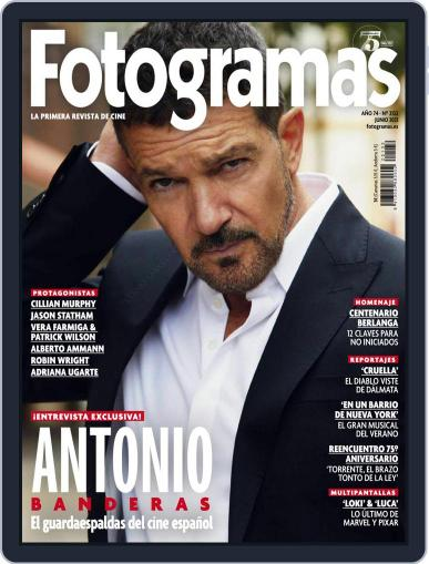 Fotogramas June 1st, 2021 Digital Back Issue Cover