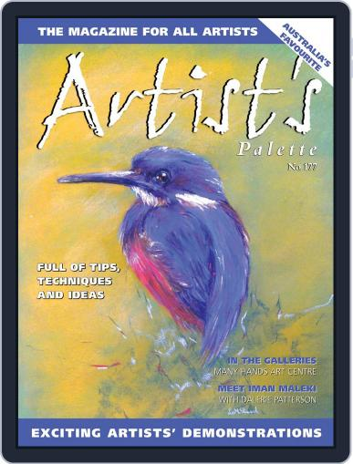 Artist's Palette (Digital) May 1st, 2021 Issue Cover