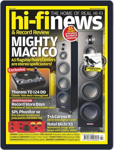 Hi Fi News (Digital) July 1st, 2021 Issue Cover