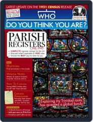 Who Do You Think You Are? (Digital) Subscription July 1st, 2021 Issue
