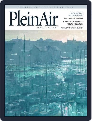 Pleinair (Digital) June 1st, 2021 Issue Cover