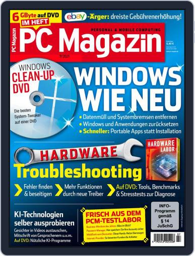 PC Magazin (Digital) July 1st, 2021 Issue Cover