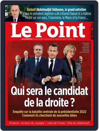 Le Point (Digital) June 3rd, 2021 Issue Cover