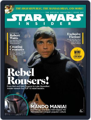 Star Wars Insider June 1st, 2021 Digital Back Issue Cover