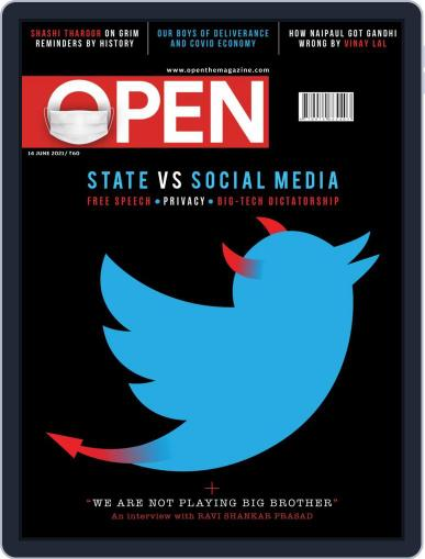 Open India June 4th, 2021 Digital Back Issue Cover