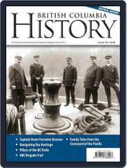 British Columbia History (Digital) Subscription June 1st, 2021 Issue