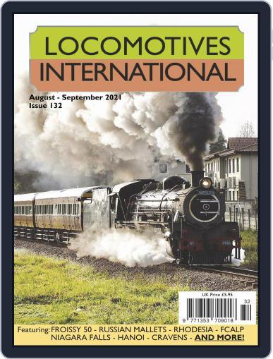 Locomotives International Magazine (Digital) August 1st, 2021 Issue Cover
