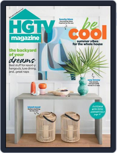 Hgtv (Digital) July 1st, 2021 Issue Cover