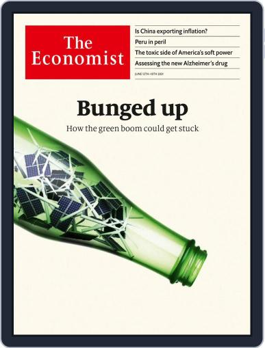 The Economist Continental Europe Edition June 12th, 2021 Digital Back Issue Cover
