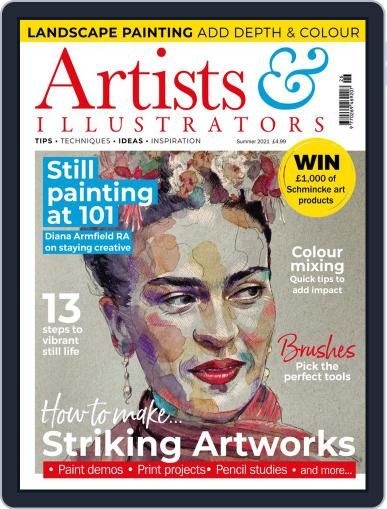 Artists & Illustrators (Digital) June 4th, 2021 Issue Cover
