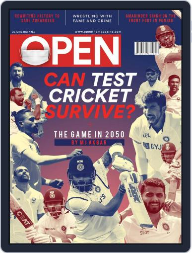 Open India June 11th, 2021 Digital Back Issue Cover